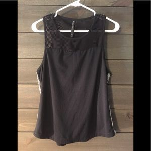 LUKKA LUX WORKOUT TANK WITH MESH BACK